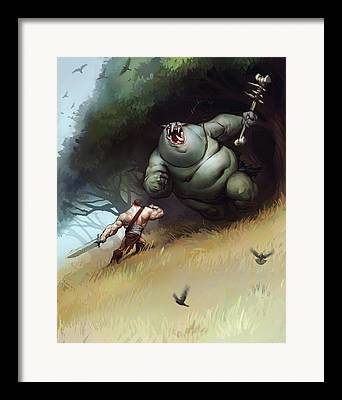 Troll Framed Prints
