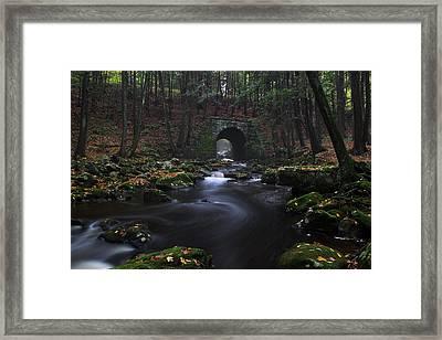Troll Bridge Framed Print
