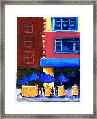 Trolley's Framed Print by Janet Hull