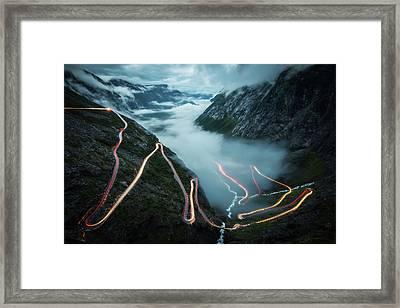 Trollstigen Framed Print
