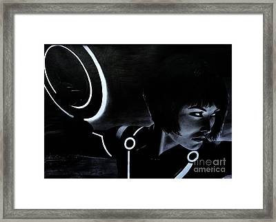 Tron Framed Print by Gil Fong