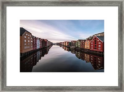 Trondheim, Norway Framed Print by Par Soderman