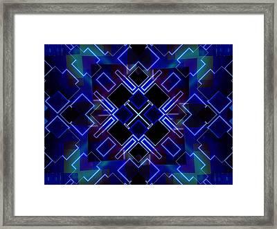 Tron's Light Framed Print