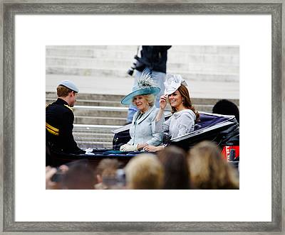 Trooping The Colour 2012 Framed Print