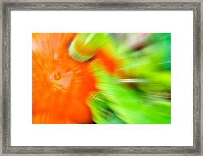 Tropfen Framed Print