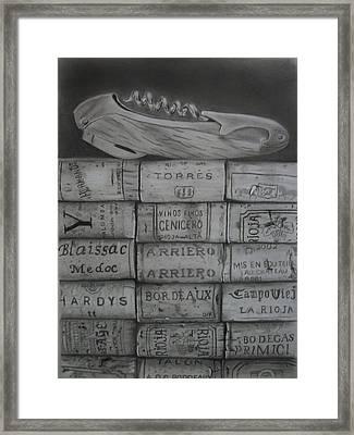Trophies Framed Print by Daniel Diehl