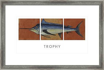 Trophy Framed Print by Andrew Drozdowicz