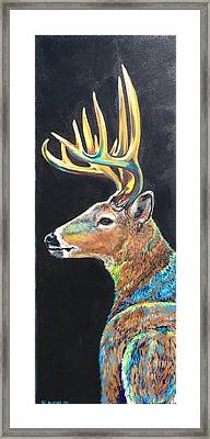 Trophy Buck Framed Print