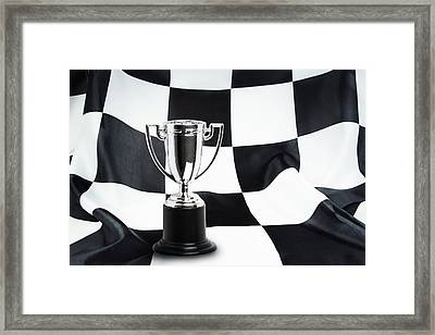 Trophy  Framed Print by Les Cunliffe