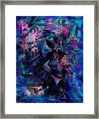 Tropic Glass Framed Print by Rachel Christine Nowicki