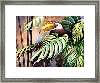 Tropic View Framed Print