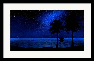 Glow In The Dark Framed Prints