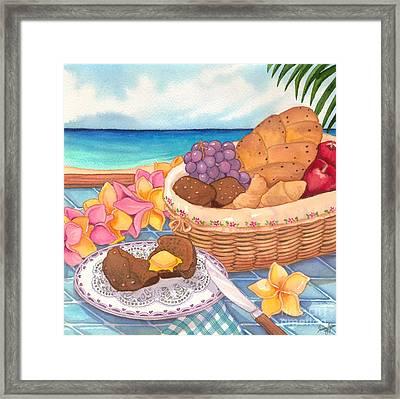 Tropical Breakfast Framed Print by Tammy Yee