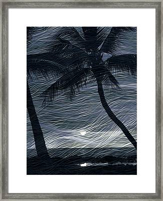 Framed Print featuring the photograph Tropical Breeze by Athala Carole Bruckner