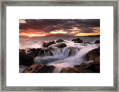 Tropical Cauldron Framed Print