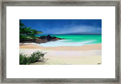Tropical Charm Framed Print