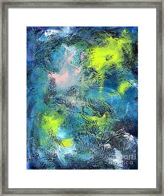 Tropical Cyclone Framed Print