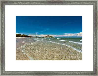 Tropical Destination Framed Print