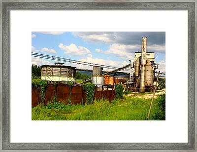 Framed Print featuring the photograph Tropical Distillery by Jon Emery