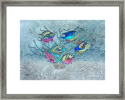 Tropical Fish 1 Framed Print