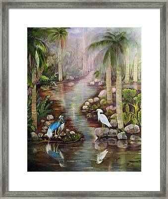 Tropical Fog Framed Print