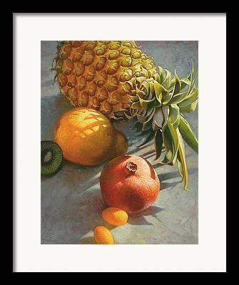 Edible Mixed Media Framed Prints