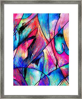 Tropical Fruits Framed Print by Rachel Christine Nowicki
