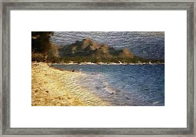 Tropical Getaway Framed Print