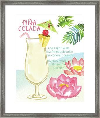 Tropical Getaway II Framed Print