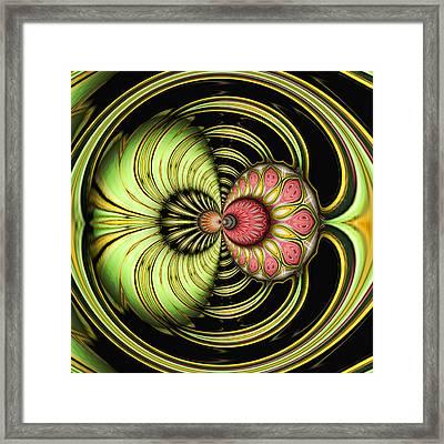 Tropical Interlude Framed Print