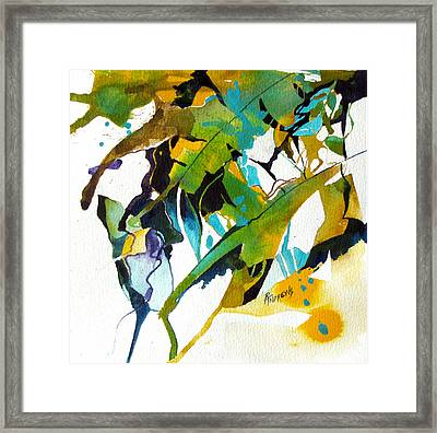 Tropical Leaf Fantasy Framed Print