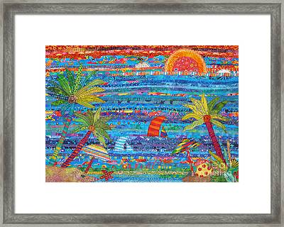 Tropical Moments Framed Print by Susan Rienzo