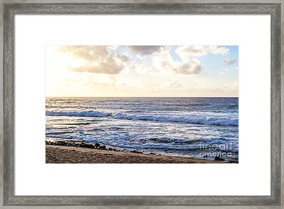 Framed Print featuring the photograph Tropical Morning  by Roselynne Broussard