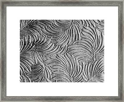Tropical Palms - Metallic Silver Framed Print by Artistic Mystic