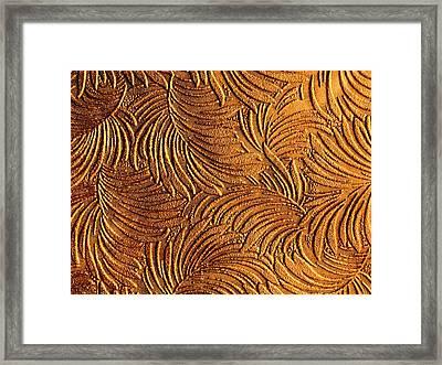 Tropical Palms - Metallic Bronze Framed Print by Artistic Mystic