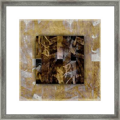 Tropical Panel Number Two Framed Print