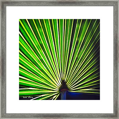 Tropical Patterns Framed Print
