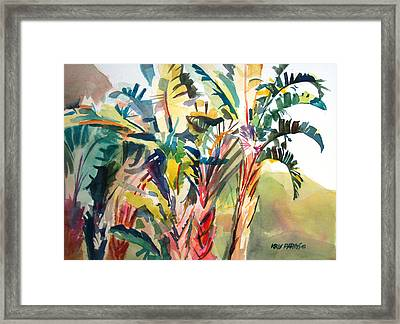 Tropical Punch Framed Print by Kris Parins
