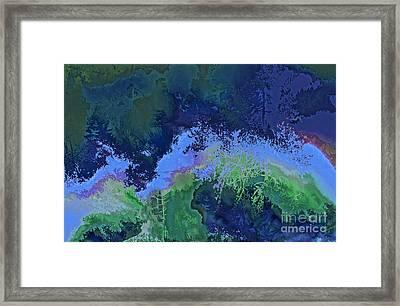 Tropical Rainforest Framed Print by Ursula Freer