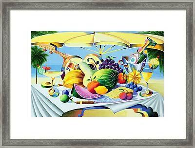 Tropical Still Life Framed Print