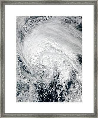 Tropical Storm Alex Framed Print by Nasa