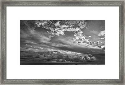 Tropical Storm Framed Print by Roger Mullenhour