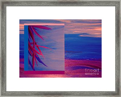 Tropical Sunrise By Jrr Framed Print by First Star Art