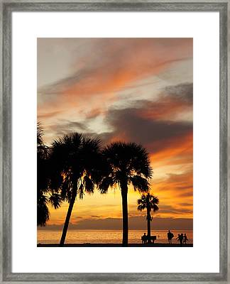Framed Print featuring the photograph Tropical Vacation by Laurie Perry