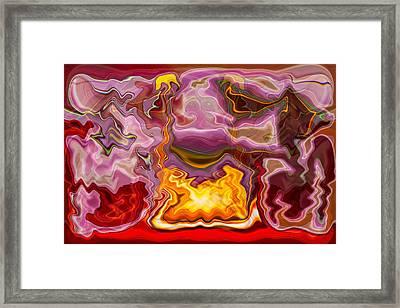 Tropicana Framed Print
