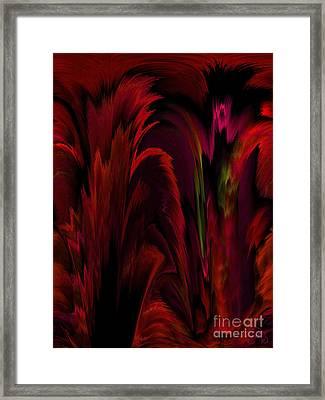 Tropicana Framed Print by Patricia Kay