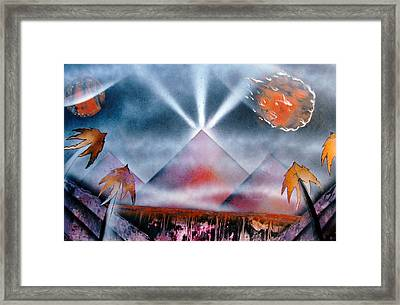 Tropics Framed Print