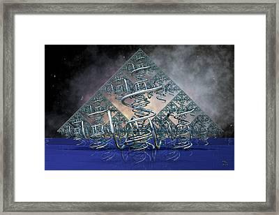 Tropism Framed Print by Manny Lorenzo