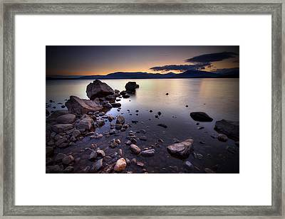 Trossachs Loch Lomond Framed Print