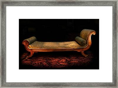 Trotter Sofa Paxton House Framed Print